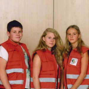 Schulsanitätsgruppe am Katzenberg