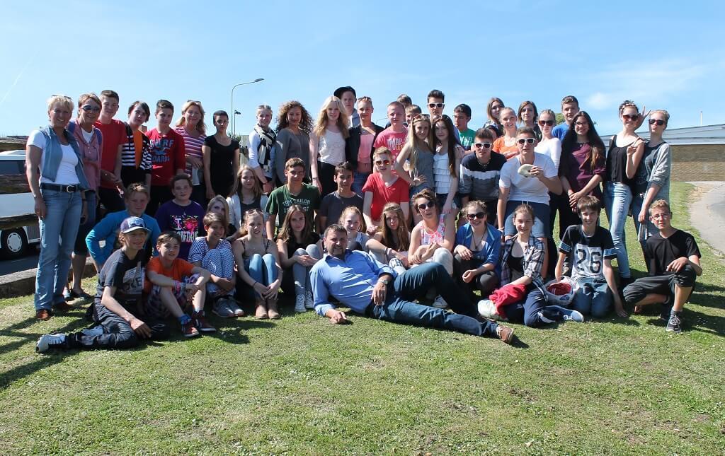 Best wishes from GB u2013 Schule am Katzenberg