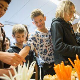 Welcome Board zu Gast im Klassenzimmer 2017, 23.10.2017, Schule am Katzenberg, Adendorf/Lüneburg, Hesam Asadi